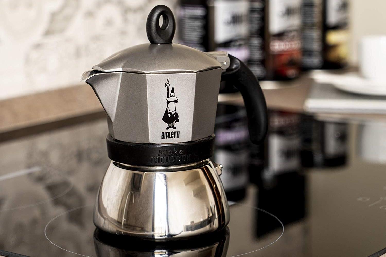 ILSA EXPRESS espresso FORNELLO FORNELLO FORNELLO PER 3 TAZZE lucidata-CAFFE MILANO